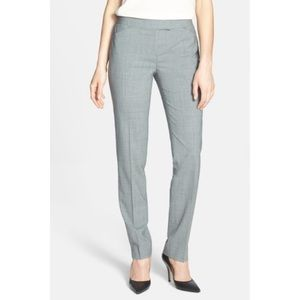 Lafayette 148 'Irving' Stretch Wool Dress Pants